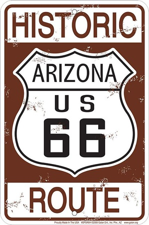 cartel historic route 66
